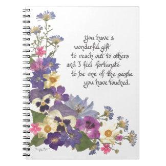 gift of appreciation note books
