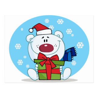Gift Polar Bear Postcard