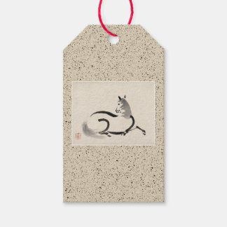 GIFT TAG CHINESE HORSE (UMA)