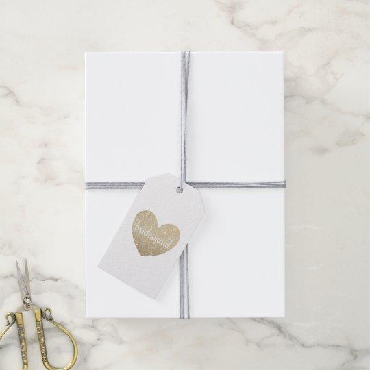 Gift Tag - Heart Fab bridesmaid