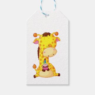 Gift Tags - Giraffe Birthday