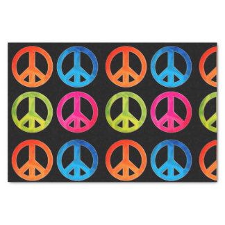 Gift Tissue Paper with Peace signs