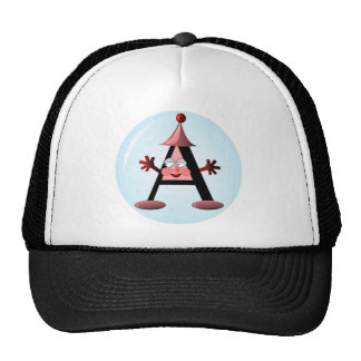 Gift with Letter A initial Cap