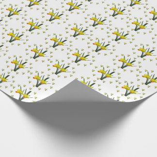 Gift Wrap - Daffodil blossoms Wrapping Paper