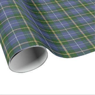 gift wrap Wrapping Paper  blue Nova Scotia Tartan