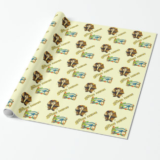 Giftee Name, Egyptian Theme Gift Wrap
