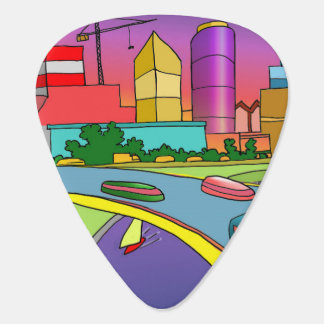 #giftforher guitar pick by DAL