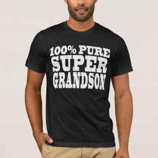 Gifts 4 Grandsons : 100% Pure Super Grandson T-Shirt