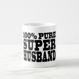 Gifts 4 Husbands : 100% Pure Super Husband Coffee Mug