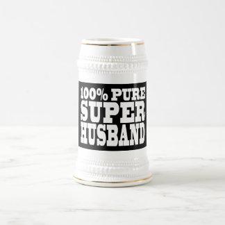 Gifts 4 Husbands 100 Pure Super Husband Mug