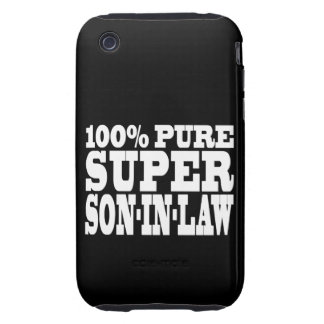 Gifts 4 Sons in Law : 100% Pure Super Son in Law Tough iPhone 3 Case