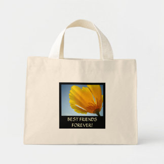 GIFTS BEST FRIENDS FOREVER Tote Bag Poppies