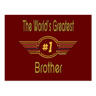 Gifts For Brothers Postcards