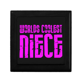 Gifts for Cool Nieces : Pink Worlds Coolest Niece Gift Box