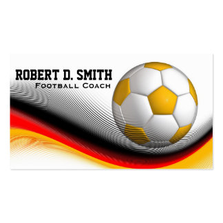 Gifts for German Football Soccer Players Business Card