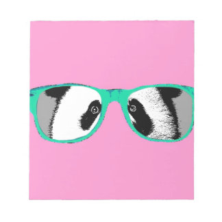 Gifts for Girls Cute Pandas Bears Personalized Notepad