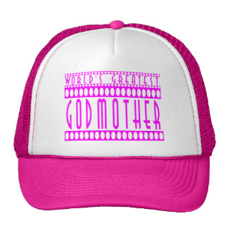 Gifts for Godmothers : World's Greatest Godmother Cap