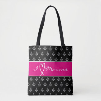 Gifts for Masonic Wives | Freemason Tote Bags