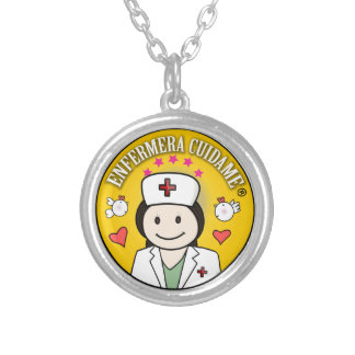 Gifts for Nurse Take care of to me Round Pendant Necklace