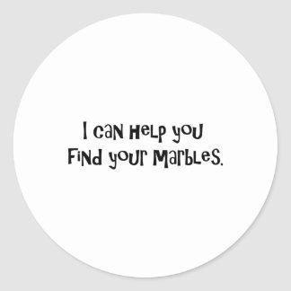Gifts for Psychiatrists Round Sticker