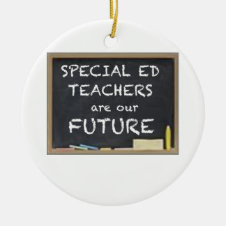 GIFTS FOR SPECIAL ED TEACHERS ROUND CERAMIC DECORATION
