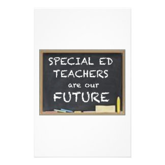 GIFTS FOR SPECIAL ED TEACHERS CUSTOM STATIONERY