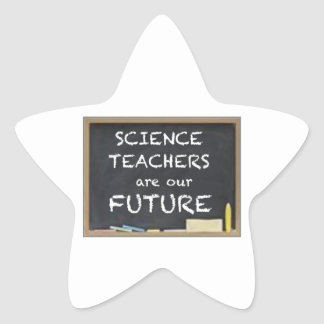 GIFTS FOR TEACHERS (SCIENCE) STAR STICKER