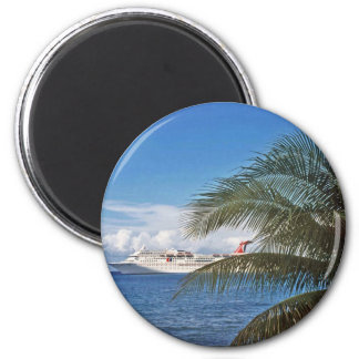 Gifts from the Caribbean 6 Cm Round Magnet