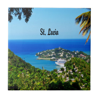 Gifts from the Caribbean Small Square Tile
