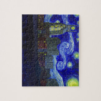"Gifts: ""Nashville Starry Night"" by Jack Lepper Jigsaw Puzzle"