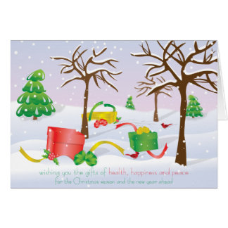 Gifts of Christmas Card