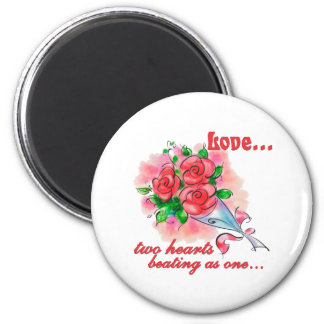 Gifts of Love 6 Cm Round Magnet
