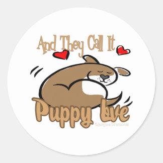 Gifts Of Love Round Sticker