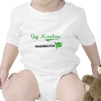 Gig Harbor Washington City Classic T Shirt