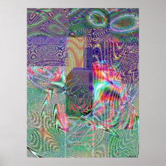 Giga Pixel Mix Poster