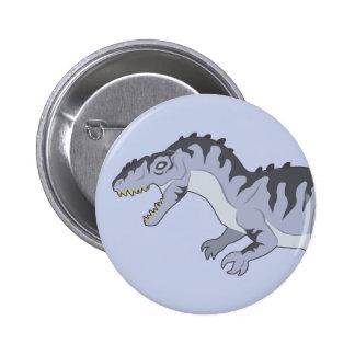 Giganotosaurus 6 Cm Round Badge