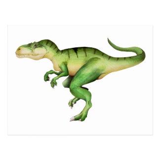 Giganotosaurus carolinii postcard