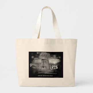 Giganticus Headicus Route 66 Creative Concepts Canvas Bags