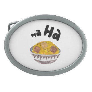 Giggle Flakes Buckle Oval Belt Buckles