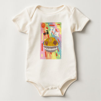 Giggle Flakes Organic Babygro Baby Bodysuit