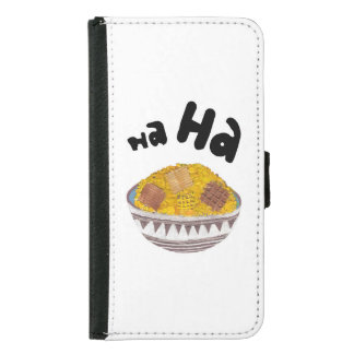 Giggle Flakes Samsung Galaxy S5 Wallet Case