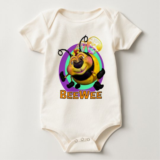 GiggleBellies BeeWee the Bumble Bee Baby Bodysuit