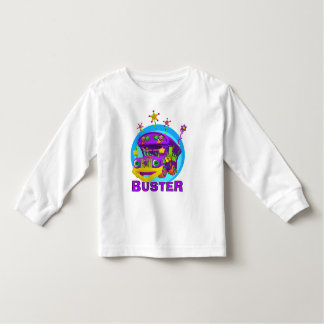 GiggleBellies Buster the Bus Toddler T-Shirt