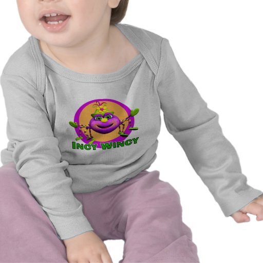 GiggleBellies Incy WIncy Spider T Shirts