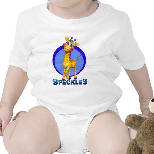 GiggleBellies Speckles the Giraffe T-shirt