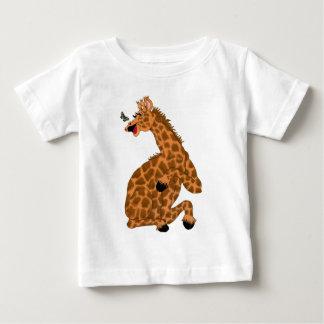 Giggling Giraffe Baby T-Shirt