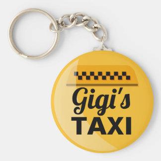 Gigi's Taxi Keychain