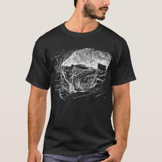 Gila Cliff Dwellings, New Mexico. Night Sky T-Shirt