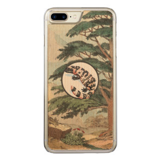 Gila Monster In Natural Habitat Illustration Carved iPhone 8 Plus/7 Plus Case