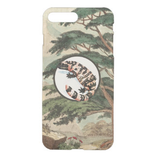 Gila Monster In Natural Habitat Illustration iPhone 7 Plus Case